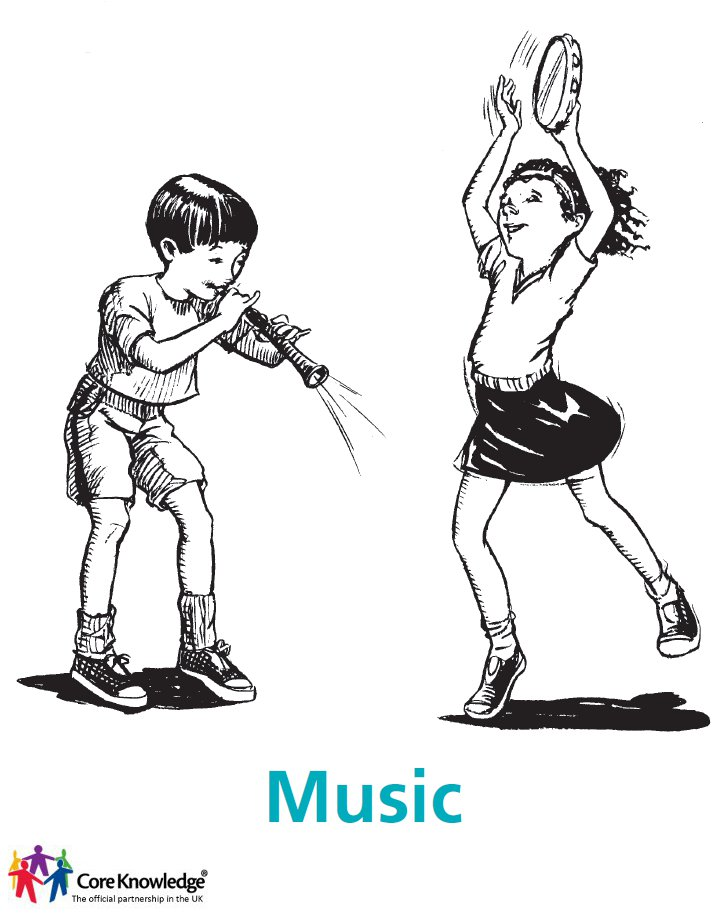 children playing instruments - music cover image