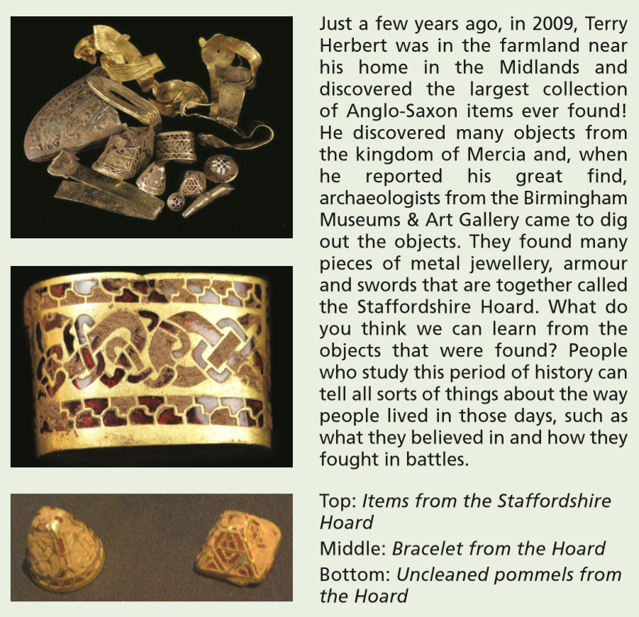 anglosaxon items
